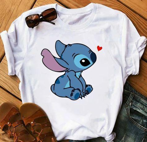 Koszulka bluzka t-shirt Disney Stich S-XXL