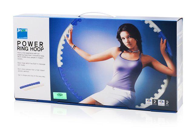 Power Ring koło hula-hop do ćwiczeń (średnica 97cm, 0,84kg) fitness
