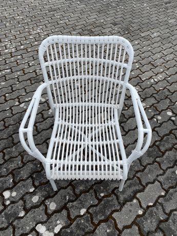 2 x Cadeiras de jardim em metal