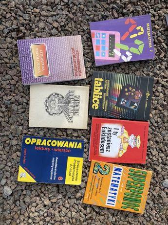 Książki z liceum i podstawowki