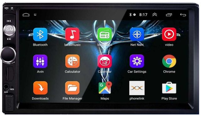 NOWE radio samochodowe 2DIN Nawigacja GPS Android 9,1 WiFi ISO RAMKA