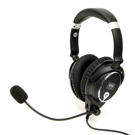 Lekkie aktywne słuchawki lotnicze NOWY MODEL 2020, PILOTGA