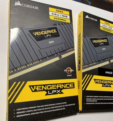 Оперативная память Corsair Vengeance LPX DDR4/ AMD/ 8Gb/ 2x8Gb/ новая