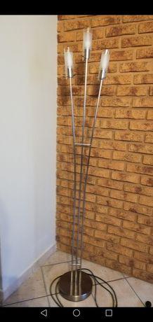Lampy-zestaw lamp- stojąca, wisząca, kinkiet