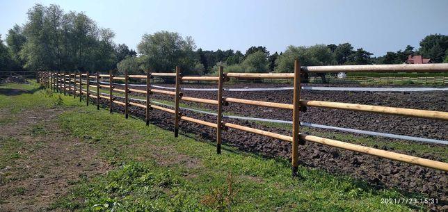 Ogrodzenia dla koni, zwierząt