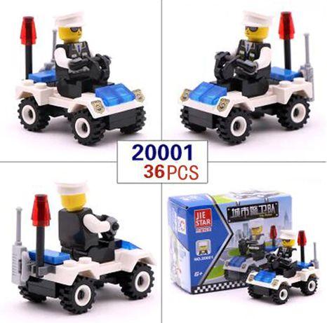 Lego City Police Полиция Полицейская машина конструктор совместим Лего