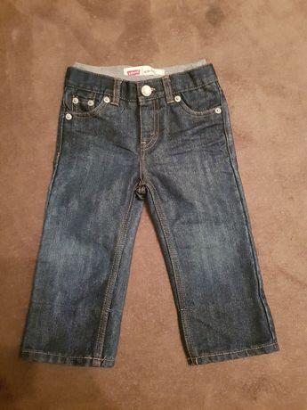 Spodnie jeansy levis dziecięce. 18 mies. Jak nowe.