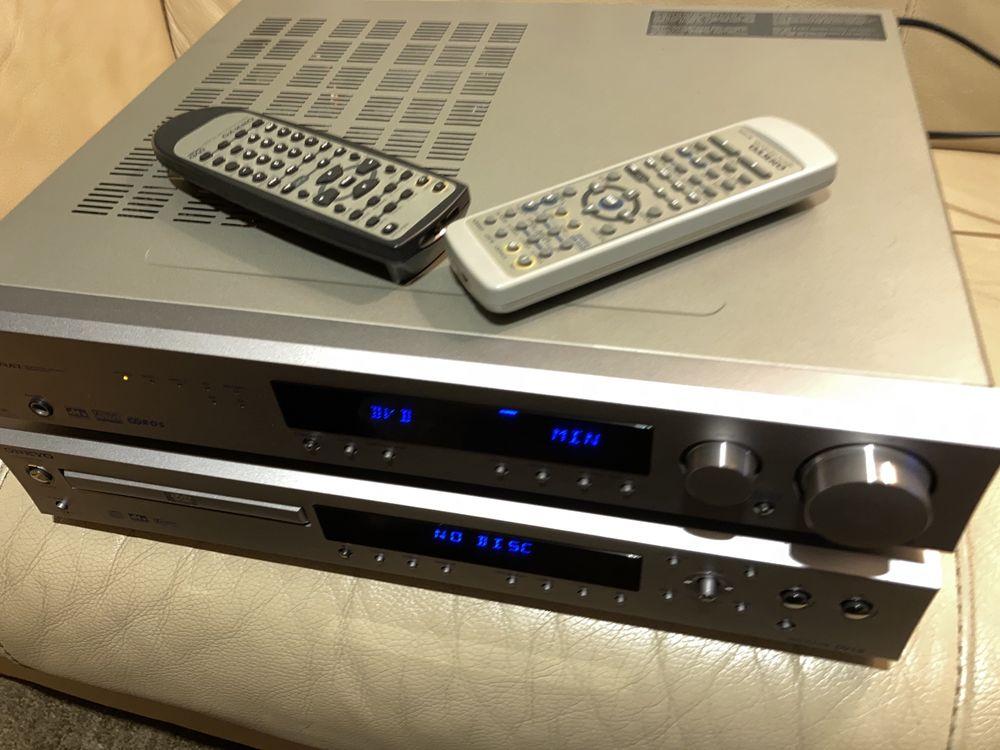 Amplificador + cd onkyo tx l5