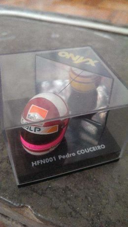 Capacete F1 Miniatura Onyx - Pedro Couceiro