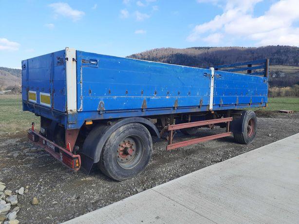 Przyczepa ciężarowa BLUMHARDT 16Ton