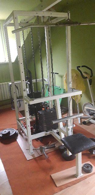 Atlas do ćwiczeń siłowych masywny ze stali