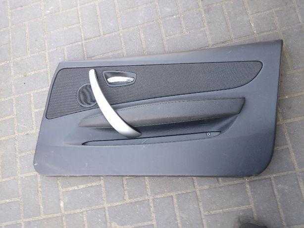 BMW E81 E88 Tapicerka boczek panel drzwi prawy