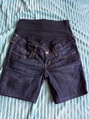 Spodenki ciążowe S/M jeans