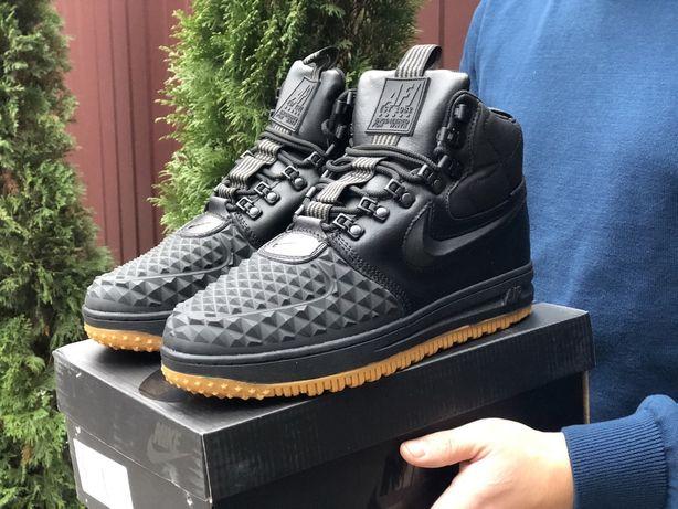 Хит зимы! Зимние кроссовки Nike Duckboot Force Мужские Найк Дакбут