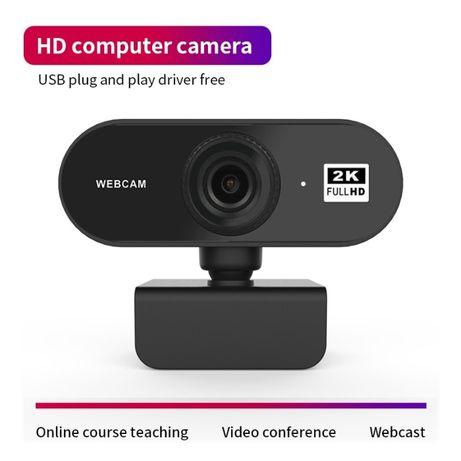 Веб камера WEBCAM 2K, FULL HD 1080p, вебка, видеокамера