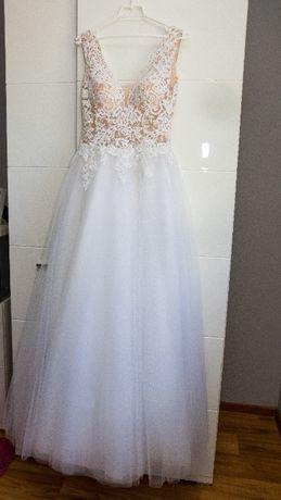 Suknia ślubna rozmiar 36/38 wzrost 177