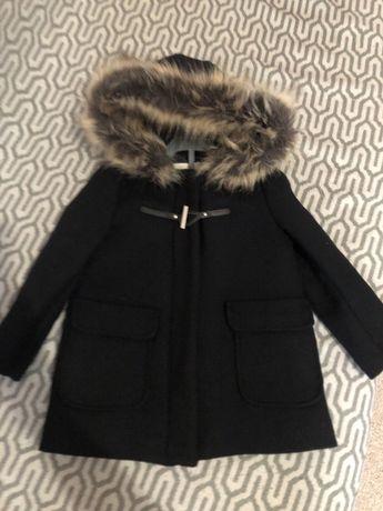 Пальто Zara утепленное
