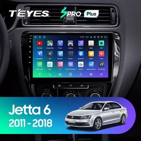 Штатная автомагнитола для VW Jetta 6 2011-2018 android 10 (3/32гб) 4G