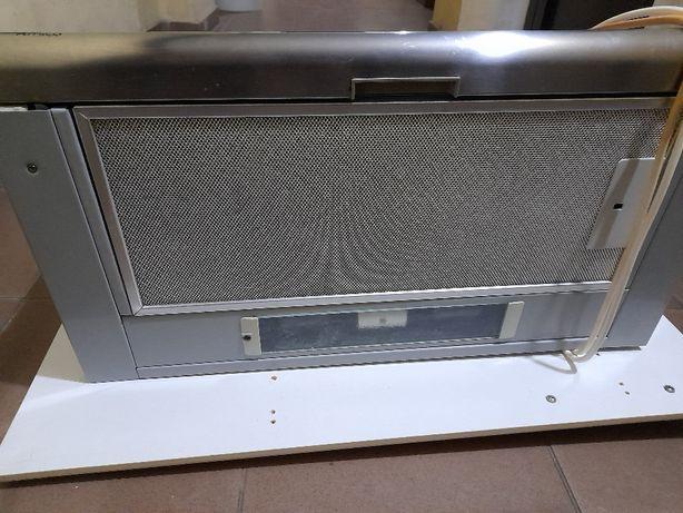 Okap kuchenny podszafkowy Amica srebrny długość 50cm.