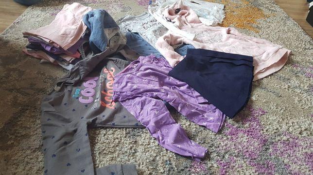 Ubrania dla dziewczynki 110/116/122