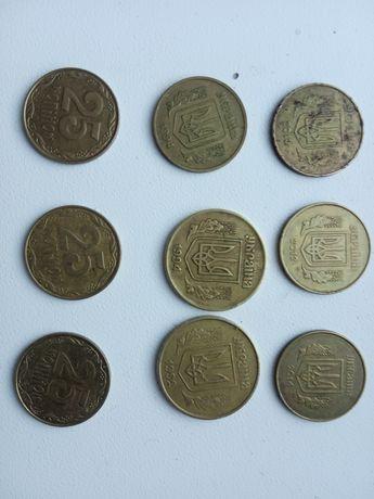 Очень редкие монеты 50 копеек 1992 1994 25 копеек 1992 2009 2011 2013