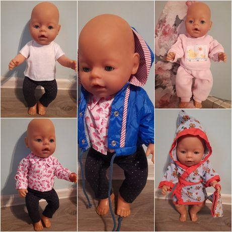 Гардероб одежда на Беби Борн Baby born халат рубашка футболка костюм
