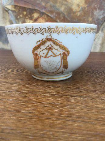 Chávena Porcelana Chinesa séc XVIII 9 cm Qing