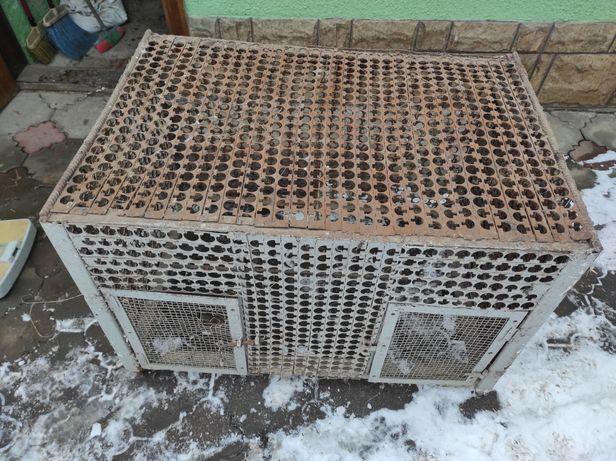 Клітки для кролів, нутрій металеві, клітки кролики нутрії клітка метал