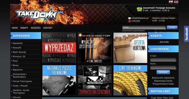 Sklep internetowy MMA Takedown.pl