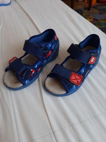 Sandałki Befado skórzana wkładka