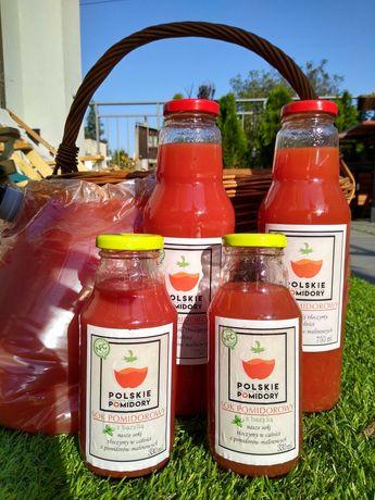 Sok pomidorowy 100% własnej produkcji