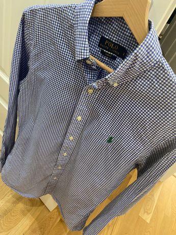 Ralph Lauren męska koszula w kratkę rozmiar S Stan bardzo dobry!