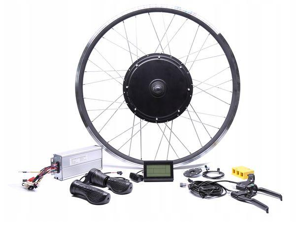 Elektryczny silnik koło do roweru 2500W 48V Tył + sterownik + LCD3