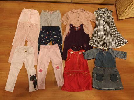 6 sztuk spodnie r. 98 F&F H&M