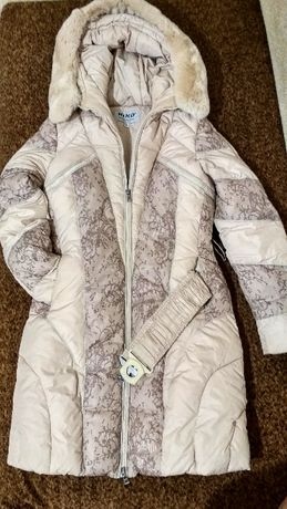Зимняя куртка КИКИ для девочки рост 164 см