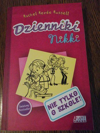 Książka Dzienniki Nikki Nie tylko o szkole!