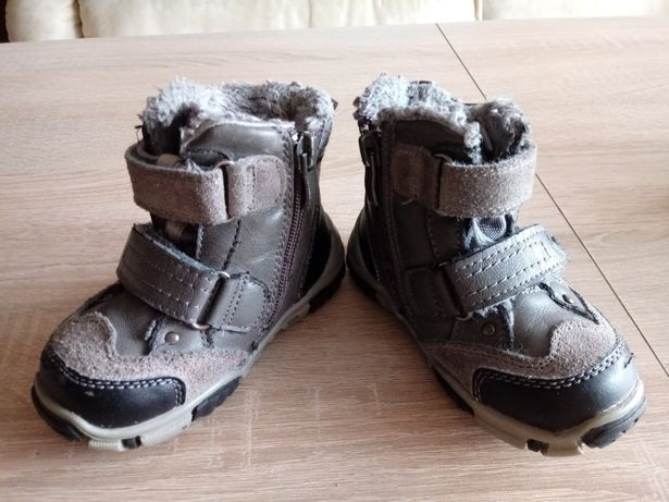 Zimowe ciepłe buty dziecięce r.22