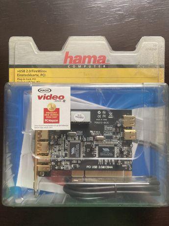 HAMA PCI карта видеозахвата , Firewire 1394