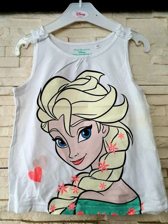 Koszulka na ramiączkach Frozen C&A rozm. 122