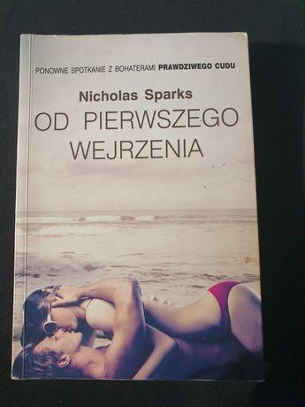 """""""Od pierwszego wejrzenia"""" Nicholas Sparks"""