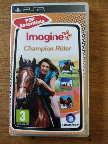 Jogo PSP original Imagine Champion Rider