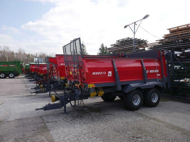 Rozrzutnik Metal fach 6 8 ton tandem od ręki batalion  Transport