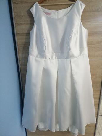 Suknia ślubna nowa ivory 56-58