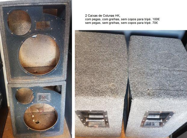 Caixas de colunas para venda ou troca