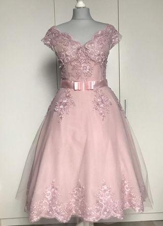 Suknia ,sukienka ślubna PIN UP ,balowa, w stylu lat 50, 60-ych