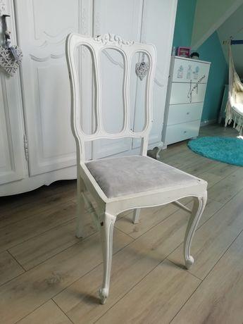 Krzesła białe 2 sztuki