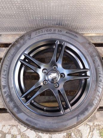 Koła aluminiowe zimowe 205/60R16 Michelin 7x16 5x112 audi vw mercedes