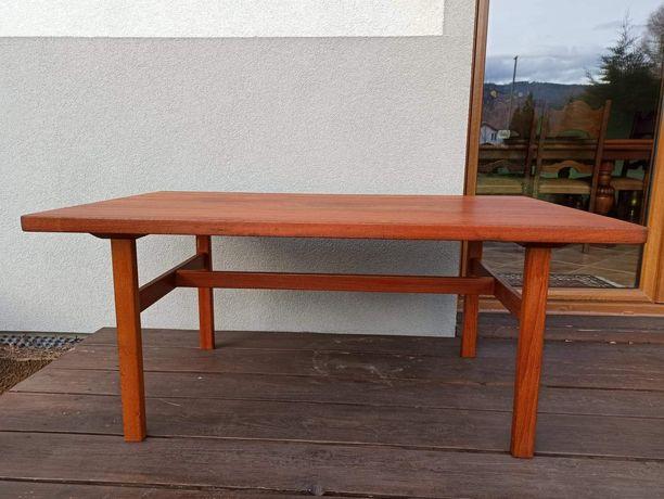 Duński stół, ława. Palisander. Lata 70 XXw. Vintage, antyk