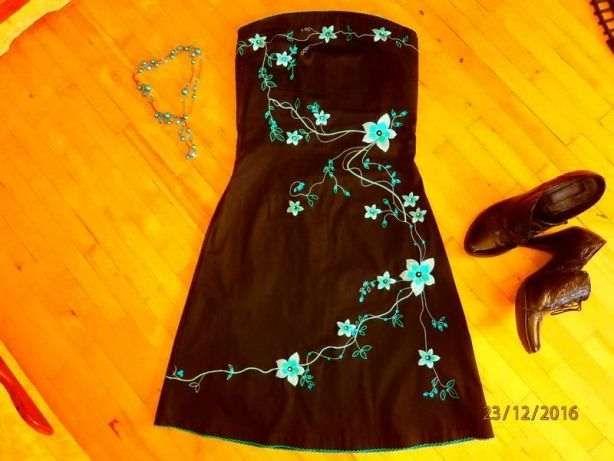 Бесплатная доставка!Фірмове плаття/платье/сукня 36-38р.
