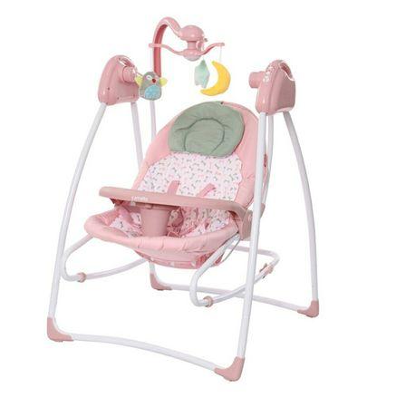 Кресло-качалка CARRELLO Grazia Bow Pink (CRL-7502)